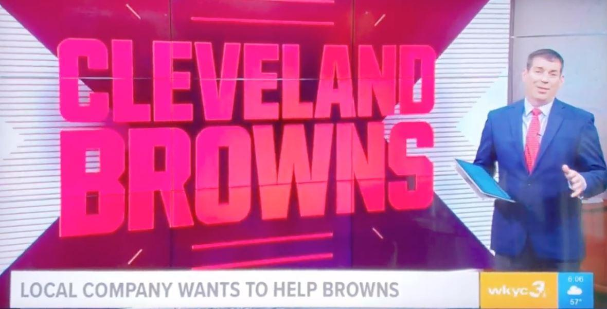 CultureShoc on WKYC Channel 3 offers help to Cleveland Browns